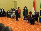 بالصور.. نص كلمة الرئيس السيسى خلال المؤتمر الصحفى المشترك مع الرئيس التنزانى