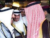 بالصور.. أمير الكويت يستقبل ولى العهد بعد فحوصات طبية ناجحة فى أمريكا