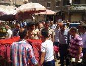 بالصور .. حملة تجميل ورفع إشغالات بمدينة دسوق استعداداً لعيد الأضحى