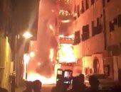 السيطرة على حريق مسجد بالمنيا دون إصابات