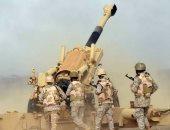 مدفعية الجيش اليمنى تقصف مواقع المليشيات الحوثية فى الملاجم