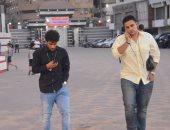 فيديو .. عبد الله جمعة يغادر بتروسبورت فى سيارة خاصة بعد التعادل أمام الانتاج الحربى
