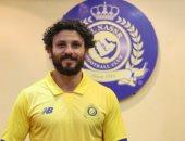 """حسام غالى """"أساسى"""" فى مباراة النصر والفيحاء بالدورى السعودى"""