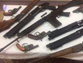 القبض على 9 متهمين بحوزتهم أسلحة وذخيرة بدون ترخيص فى الجيزة