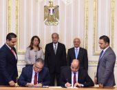 رئيس الوزراء يشهد توقيع اتفاقية تعاون بين وزارتى الانتاج الحربى والتضامن