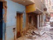 هدم 10 منازل مخالفة استخدمت فى إطلاق النار بجزيرة الطوابية بقنا