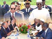 """كيف استفاد السيسي من نهج """"عبد الناصر"""" فى إعادة مصر إلى أحضان أفريقيا؟"""