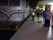 """سائق قطار """"القاهرة - بورسعيد"""" يتسبب فى تعطله لأكثر من ساعة بمحطة الزقازيق"""