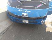 عودة الحركة المرورية بطريق إسكندرية الزراعى أمام طوخ بعد توقفها بسبب حادث