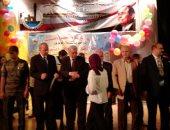 بالصور.. محافظ القليوبية ووكيل وزارة التعليم يكرمان أوائل الشهادات العامة