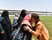 البدويات يستقبلن سحر نصر  بالزغاريد بجنوب سيناء.. والوزيرة تطالب بفرص عمل لهن