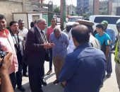 مدير أمن دمياط يزور مستشفى فارسكور بعد اعتداء أفراد أمن على مرافقى مريض