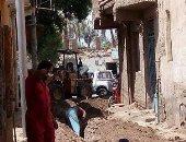 بدء أعمال الحفر لتوصيل الغاز الطبيعى بمدينة البياضية بالأقصر