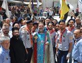 بالصور.. المسيحيون الإرثوذكس بسوريا يحتفلون بتنصيب أسقف الحسكة الجديد