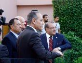 """بالصور.. بدء احتفالية """"وفاء النيل"""" بعرض عسكرى بحضور محافظين وإعلاميين"""