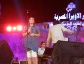 نيفين رجب تطرب جمهور مهرجان القلعة فى الليلة قبل الأخيرة