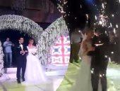 بالفيديو والصور.. حفل زفاف مصطفى خاطر نجم مسرح مصر