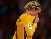 شاهد.. جريزمان مهدد بالغياب عن أتليتكو مدريد 4 مباريات.. تعرف على السبب
