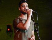 أحمد جمال يطرب جمهور محكى القلعة بأغنية وردة بتونس بيك