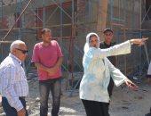 محافظ بورسعيد يتفقد مشروع انشاء المدرسة اليابانية بتكلفة 31 مليون جنيه