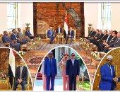 الرئيس الصومالى يهنئ السيسي بحلول عيد الفطر