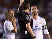 """شاهد.. راموس والبطاقات الحمراء فى الدوري الإسباني """"قصة عشق"""""""