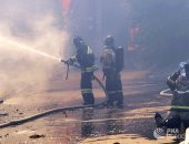 روسيا تعلن حالة الطوارئ فى مدينة روستوف بعد التهام الحرائق 100 مبنى