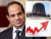 تحدى إنجازات السيسى فى 3 دقايق.. مصر تحقق معدل نمو 5.6% وانخفاض عجز الموازنة لـ8.2% وتراجع البطالة لـ7.5%.. تحديث وميكنة الضرائب والجمارك والإقرار الإلكترونى قفزت بترتيب مصر 3 مراكز فى مؤشر البنك الدولى