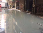 شكوى من غرق شارع عبد الباقى حسين فى القليوبية بمياه الصرف الصحى