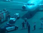 إجراءات مشددة بالمطار لتأمين سفر شحنة ذهب قادمة من منجم السكرى