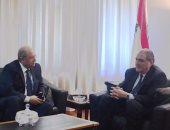 وزير عدل لبنان يستقبل رئيس مجلس الدولة لبحث التعاون القضائى بين البلدين