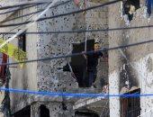بالصور.. مقتل اثنين فى اشتباكات بمخيم عين الحلوة اللبنانى