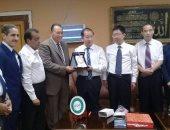 رئيس جامعة القناة: نحرص على إتمام الكلية المصرية الصينية للتكنولوجيا