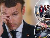 إخلاء مخيم عشوائى للمهاجرين فى شمال فرنسا