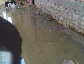 المياه الجوفية تهدد منازل قرية المسلمية فى الشرقية