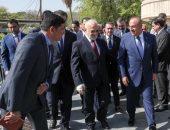 بالصور.. وزير الخارجية التركى يصل بغداد فى زيارة رسمية