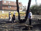 السيطرة على حريق بقطعة أرض فضاء بين مصنعين فى دمياط الجديدة