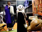 """بالصور.. """"الروبوت"""" بديل للكهنة البوذيين فى الجنائز باليابان"""