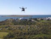 """الصليب الأحمر يلجأ للطائرات بدون طيار لرصد أضرار إعصار """"هارفى"""""""