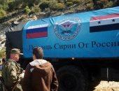 الهلال الأحمر السورى: إدخال قافلة مساعدات دولية إلى ريف دمشق الجنوبى