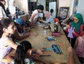 بالصور.. ورش رسم وتلوين وندوات فى ثقافة الإسكندرية