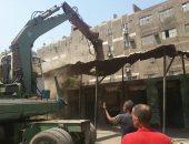 حمله مكبرة لإزالة الاشغالات والتعديات بحى المنتزه أول فى الإسكندرية