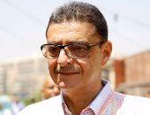 محمود طاهر يصل استاد القاهرة للإدلاء بصوته فى انتخابات نقابة المهندسين