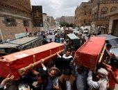 تقرير يمنى: مقتل 68 مدنيا بينهم 13 طفلا و6 نساء برصاص الحوثيين فى تعز