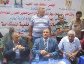 ممثلا الإسكان ومحافظة القاهرة يلتقيان أهالى السكاكينى لتطوير المنطقة