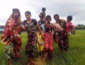بالصور.. فرار آلاف المدنيين من الروهينجا بعد أعمال عنف شمال بورما