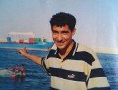 """صورة نادرة.. """"بركوتة"""" يتنزه على شط القناة أيام الشباب"""