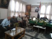 بالصور.. الرابطة العالمية لخريجى الأزهر بالغربية تناقش نشر وسطية الإسلام