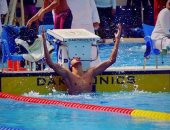 """""""هريدى"""" يفوز بالميدالية الفضية فى السباحة بدورة ألعاب البحر المتوسط"""