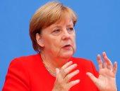 بالصور.. ميركل: رفع العقوبات عن موسكو يصب فى مصلحة ألمانيا وروسيا